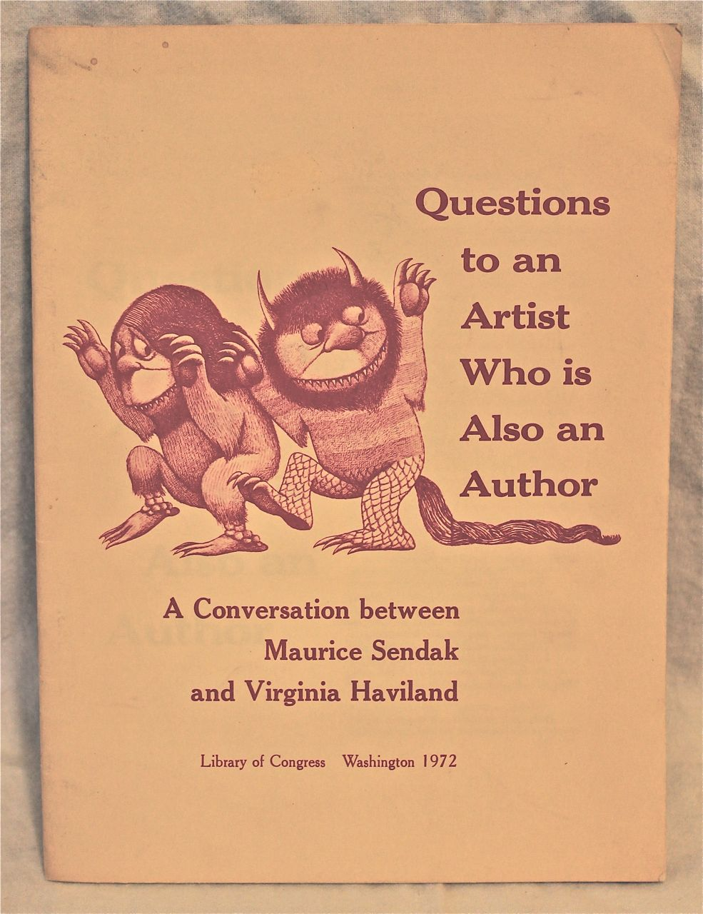 Image for A Conversation with Maurice Sendak