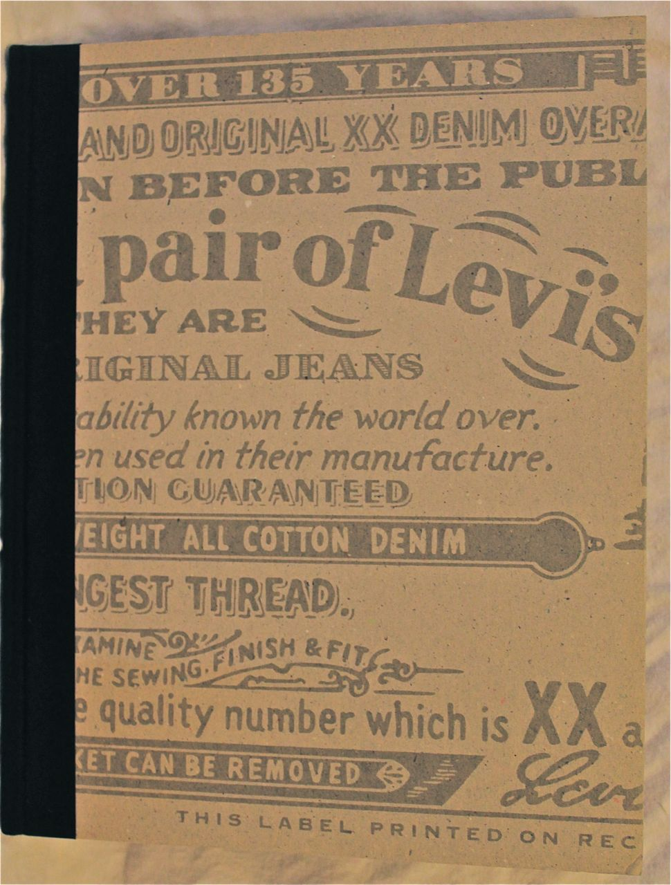 Image for This Is a Pair of Levi's Jeans: The Official History of the Levi's Brand