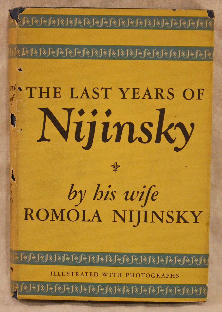 Image for The Last Years of Nijinsky