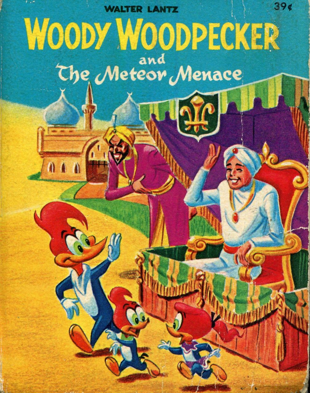 Image for Woody Woodpecker and the Meteor Menace 1967 Big Little Book