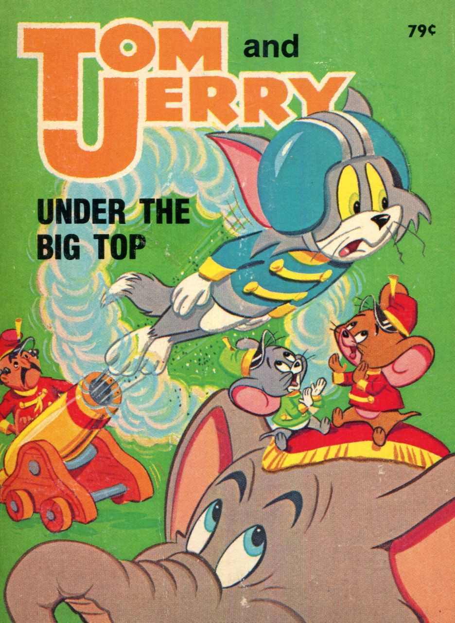 Image for Tom and Jerry under the big top (Big little book)