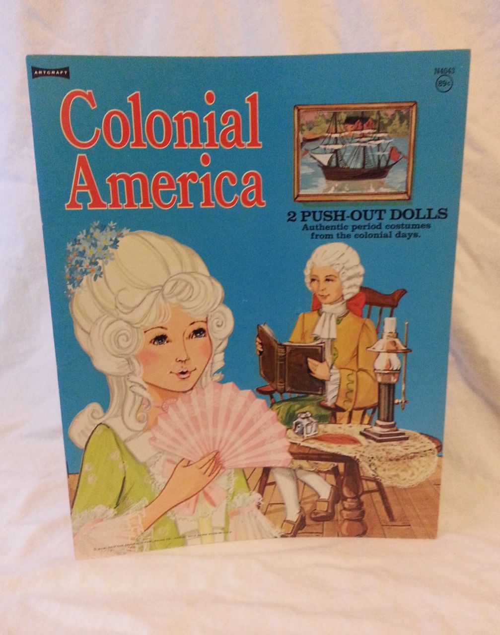 Image for Colonial AMerica : 2 Push-Out Dolls