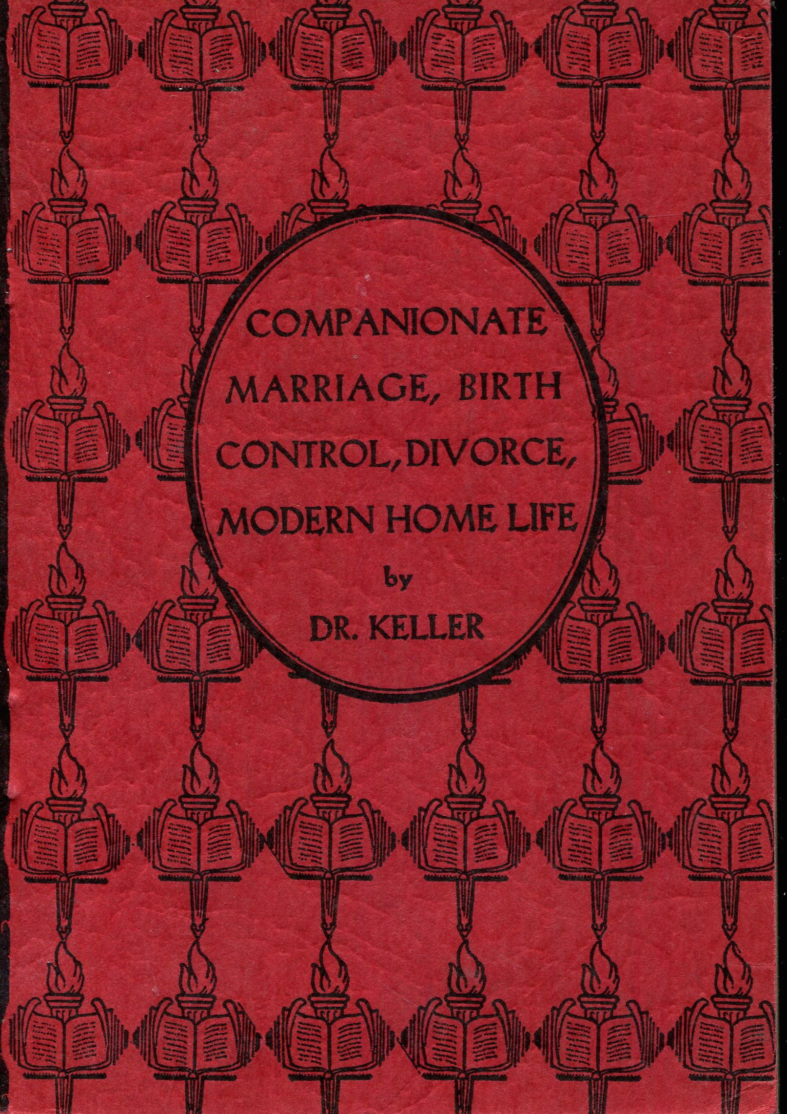 Image for Companionate marriage, birth control, divorce, modern home life (The Sexual education series)