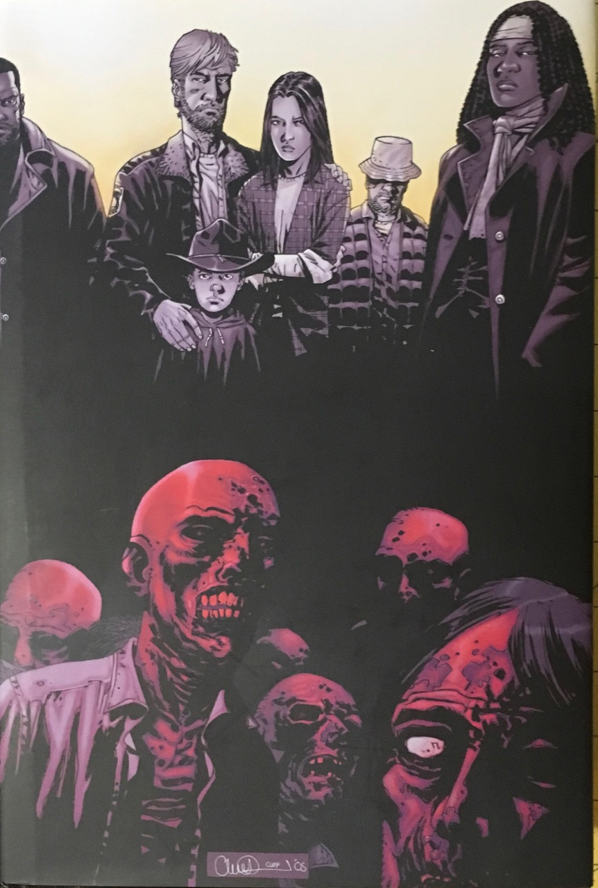 Image for The Walking Dead:  Deluxe Hardcover Volume 1