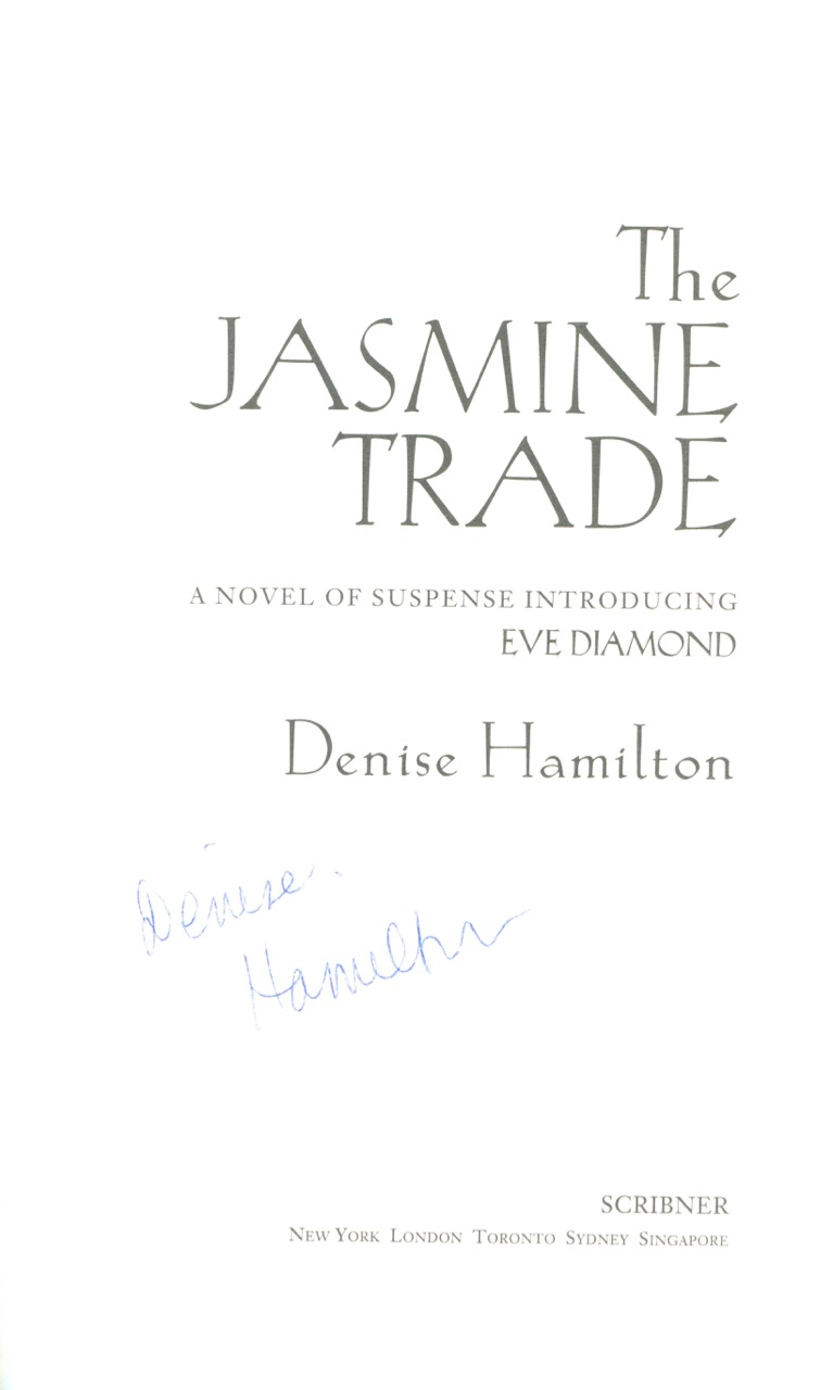 Image for The Jasmine Trade
