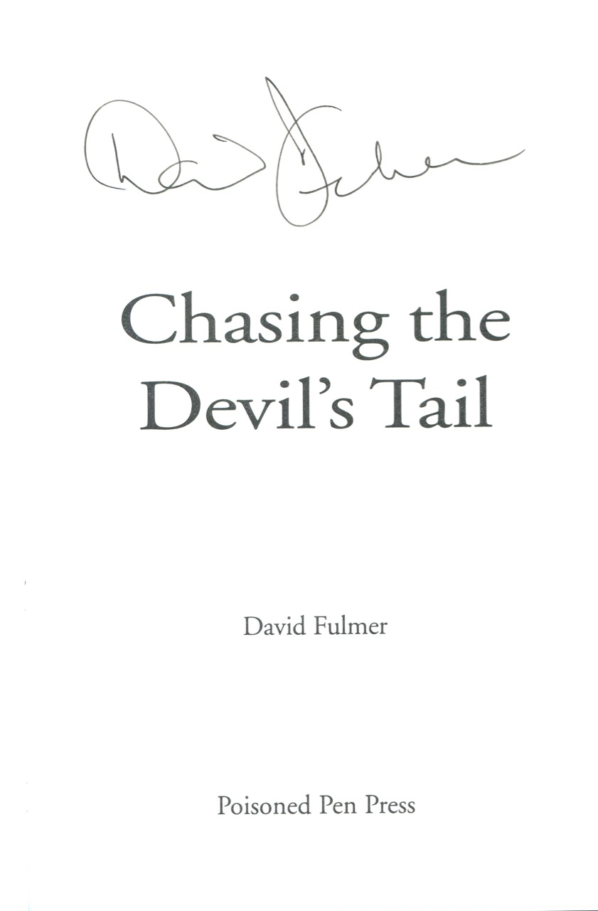 Image for Chasing the Devil's Tail (Valentin St. Cyr Mysteries)