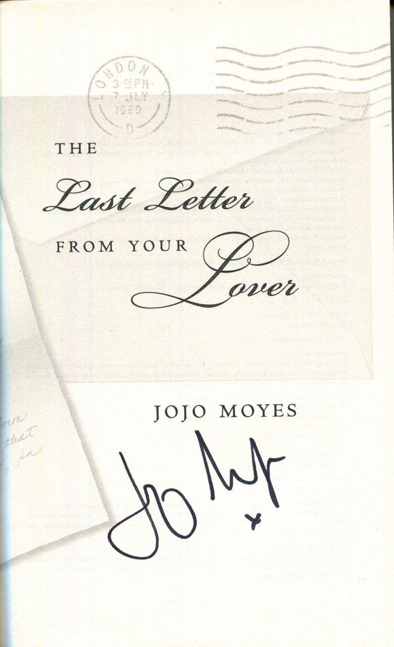 Image for The Last Letter from Your Lover: A Novel