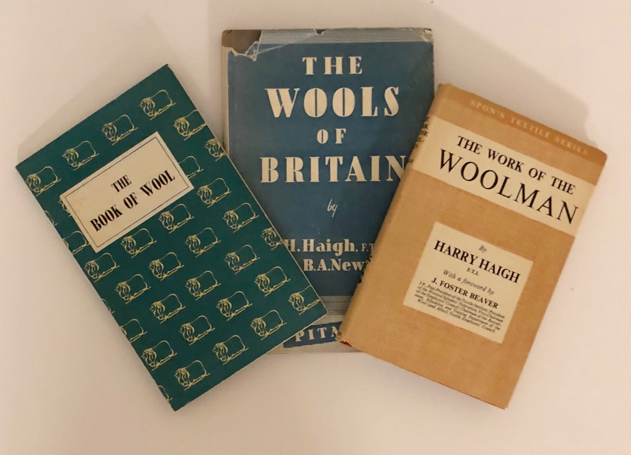 Image for Vintage Books on Wool in the UK, circa 1950s