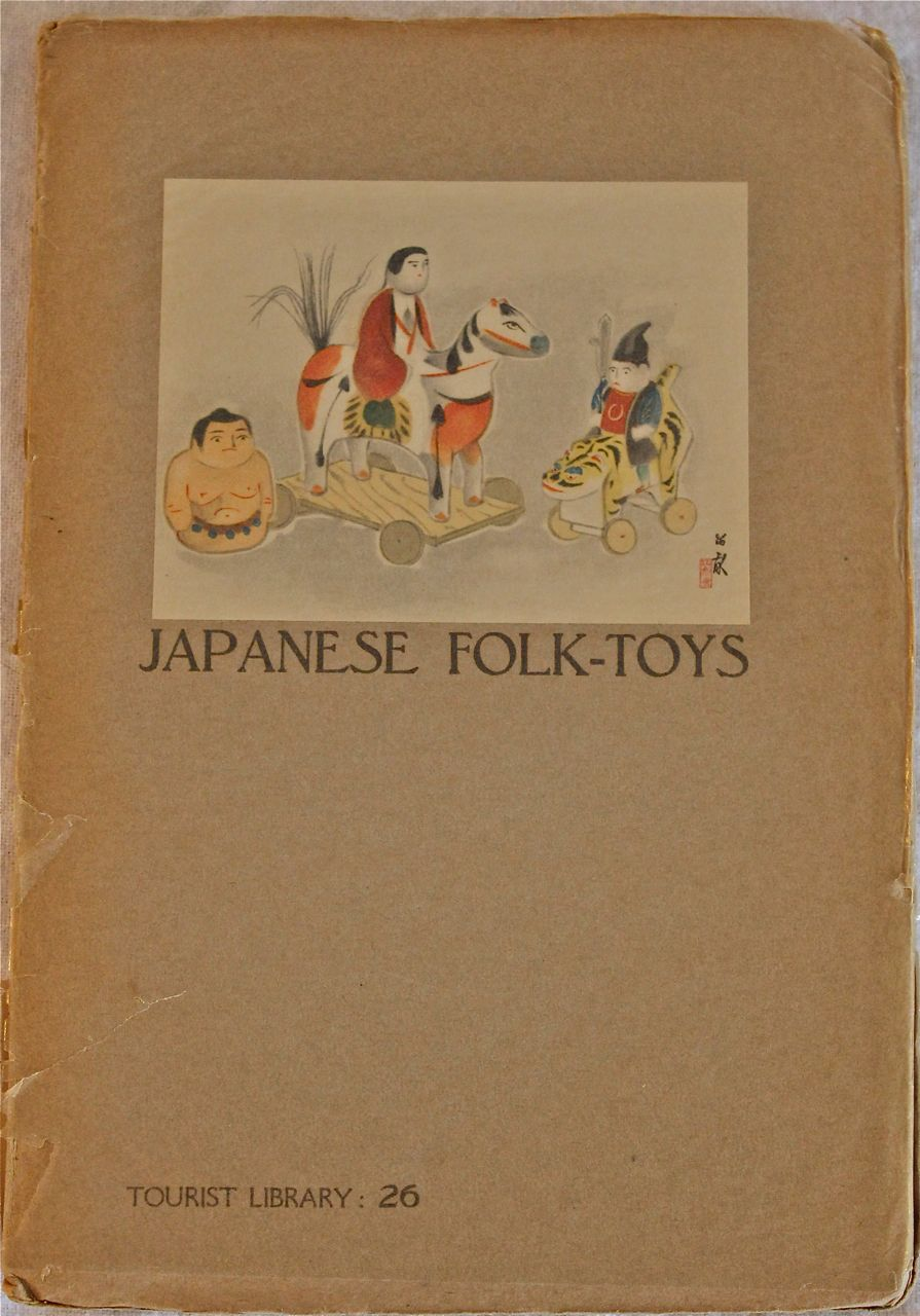 Image for Japanese Folk -Toys: Tourist Library No. 26