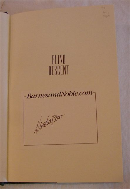 Image for Blind Descent (Anna Pigeon Mysteries)