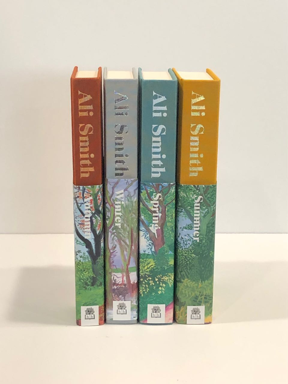 Image for Seasonal Quartet.  Set of all Four UK Firsts, Signed.
